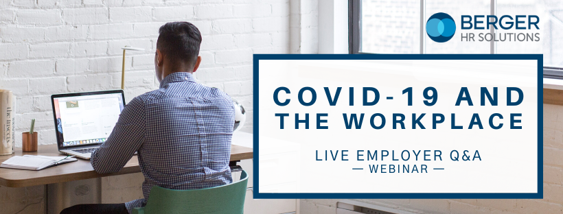 COVID-19 and the Workplace: Employer Q&A [Webinar]